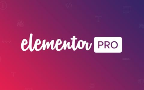 Elementor Pro v2.5.3  -  WordPress插件+弹出模板