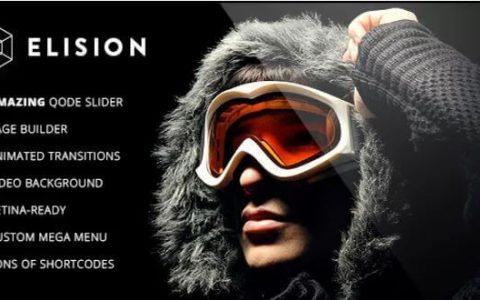 Elision v4.1.1  -  Retina多功能WordPress主题