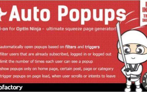 Downoad  - 适用于OptIn Ninja v1.1.6的Auto Popups附加组件