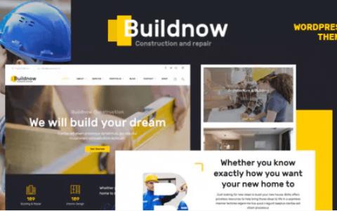 Buildnow v1.1  - 构建和构建WordPress主题