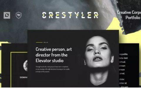 Crestyler v1.0  - 高级创意组合WordPress主题