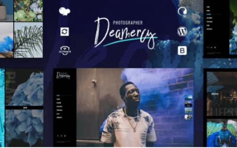 Deamercy v1.0  - 摄影作品集WordPress主题