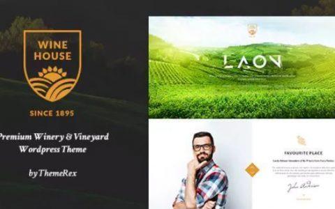 Laon v1.7.0  - 葡萄酒屋,酒庄和葡萄酒商店WordPress主题