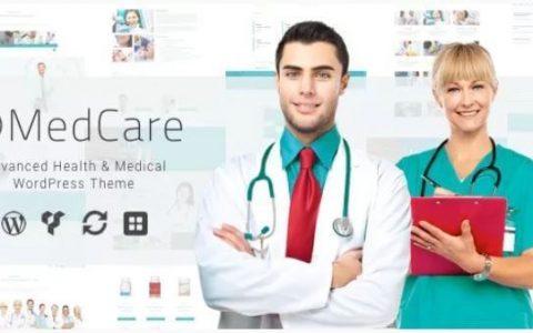 MedCare v1.0.3  - 高级健康与医疗WordPress主题