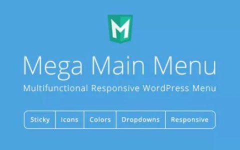 Mega Main Menu v2.1.8  - 高级WordPress菜单插件