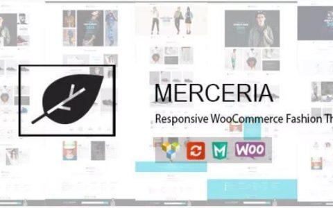 Merceria v1.3.2  -  WP响应WooCommerce时尚主题