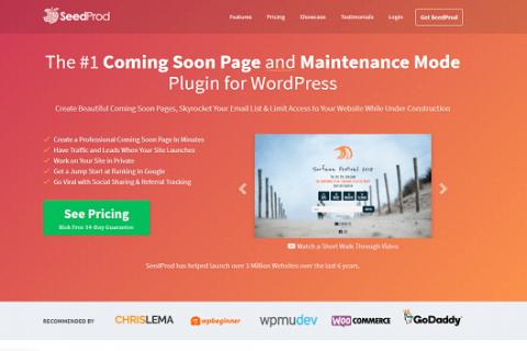 SeedPro v5.12.1  - 即将推出Pro WordPress插件