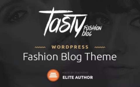 Tasty v1.1  - 响应式博客WordPress主题