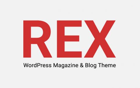 REX v3.0  - 新闻和杂志WordPress博客主题