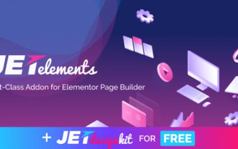 JetElements v1.15.5  -  Elementor Page Builder的Widgets插件