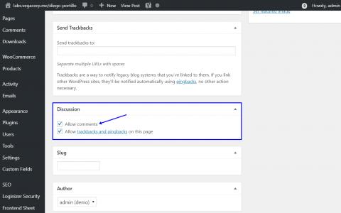 WordPress  - 按关键字,作者,类别或标记禁用帖子评论