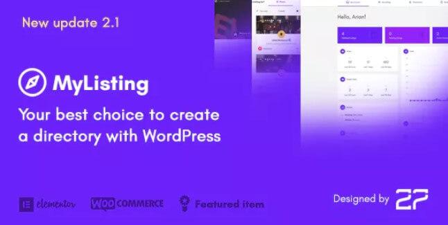 MyListing  - 目录和列表WordPress主题