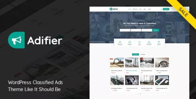 Adifier  - 分类广告WordPress主题