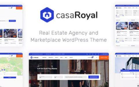 casaRoyal v1.1.3  - 高级房地产WordPress主题