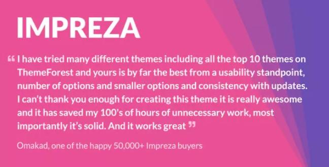 Impreza  - 多功能WordPress主题