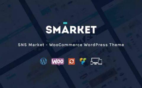 SNS Market v1.7  - 高级WooCommerce WordPress主题