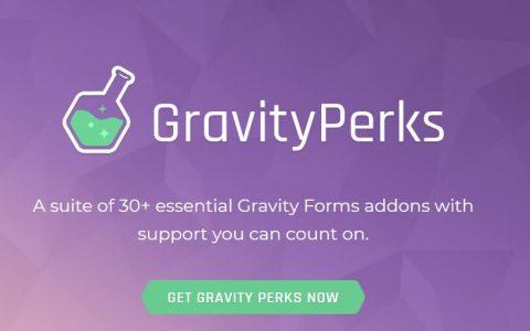 Gravity Perks v2.1.7  - 高级WordPress插件+插件