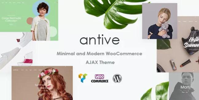 Antive  - 最小和现代主题