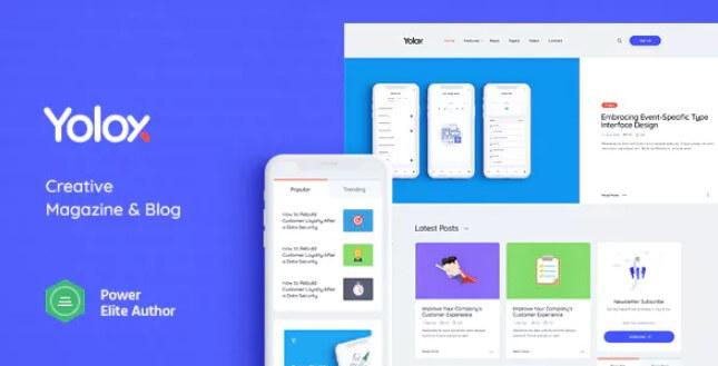 Yolox  - 现代WordPress博客主题