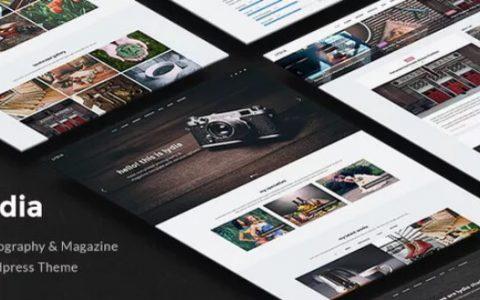 Lydia v1.1.8  - 摄影与杂志WordPress主题