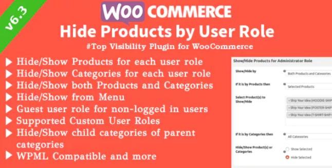WooCommerce隐藏产品