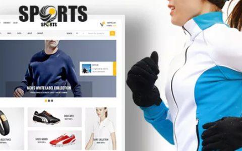 Sport Shop v2.3  - 体育俱乐部WooCommerce WordPress主题