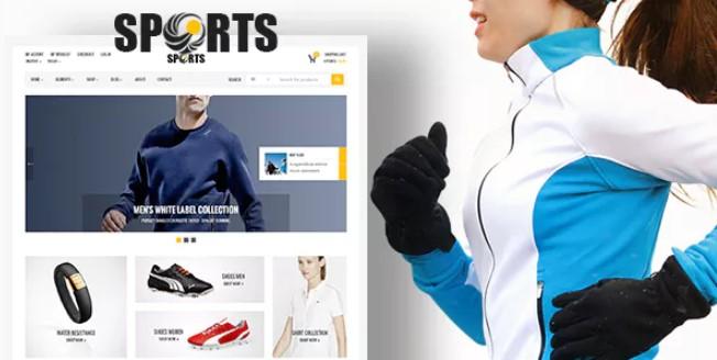 体育用品店 -  WooCommerce WordPress主题