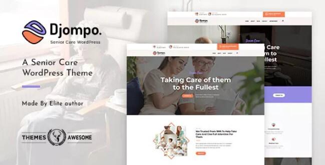 Djompo |高级护理WordPress主题