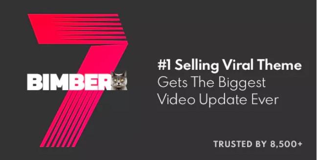 Bimber v7.1.1  - 病毒杂志,视频,新闻WordPress主题
