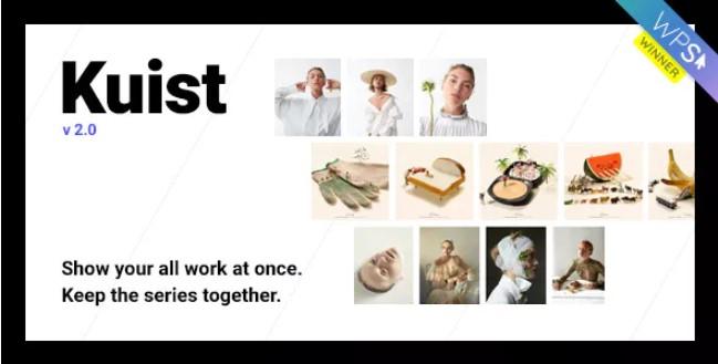 Kuist  - 摄影系列组合WordPress主题