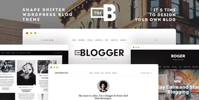 TheBlogger  - 一个WordPress博客主题