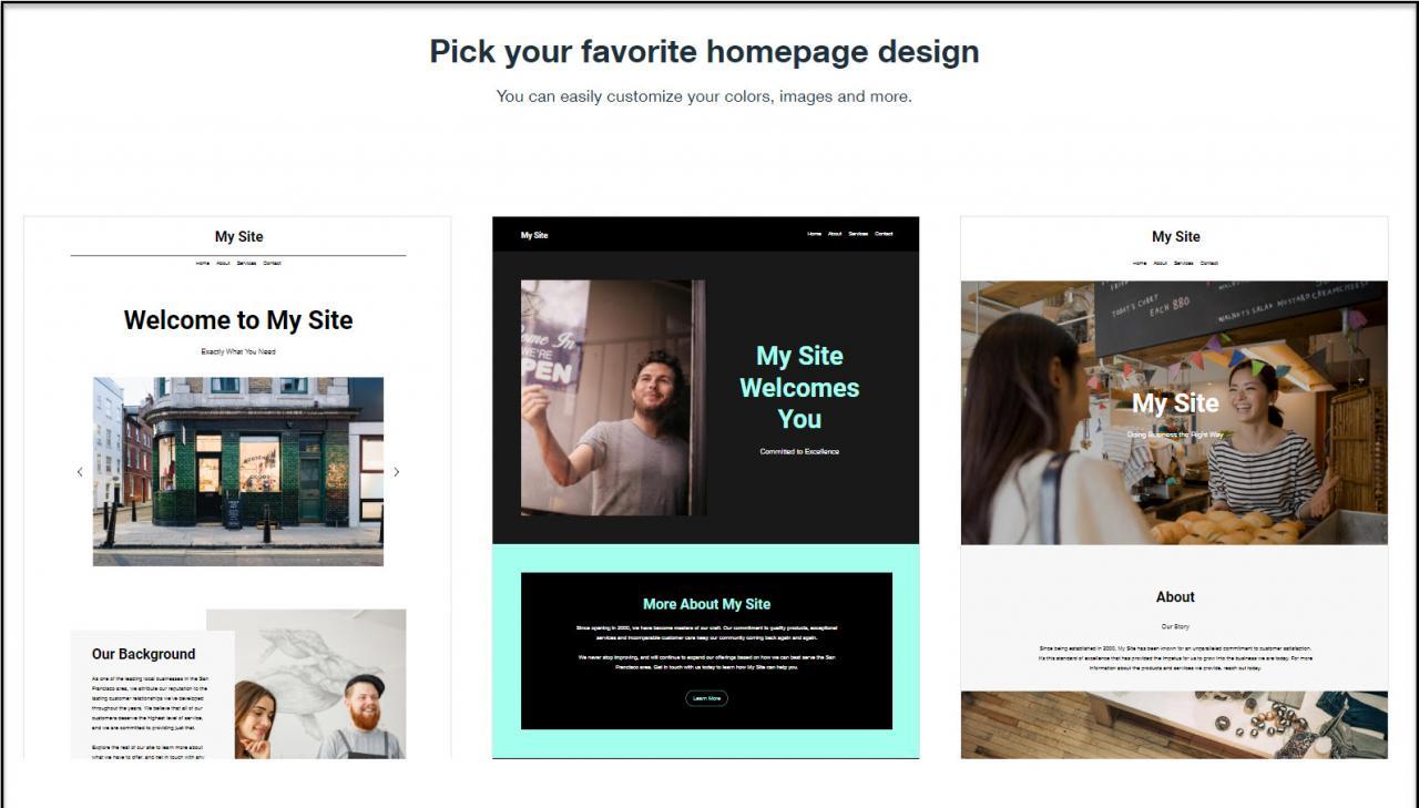 Wix ADI网站模板