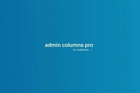 Admin Columns Pro v4.6.2  -  WordPress插件+插件