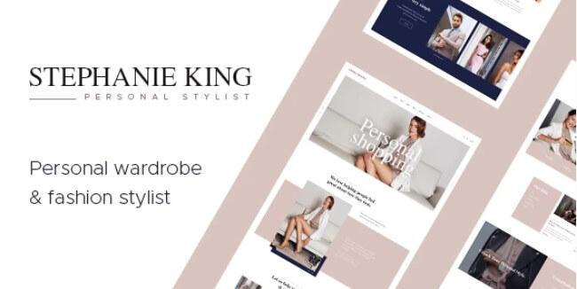 S.King  - 个人造型师WordPress主题
