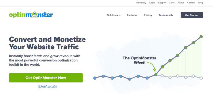 optinmonster最佳电子邮件自动化工具
