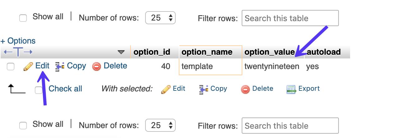 wp_options模板名称