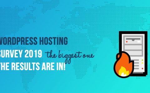 WordPress主机调查2019:根据6,500多名受访者,SiteGround规则,Bluehost关闭背后