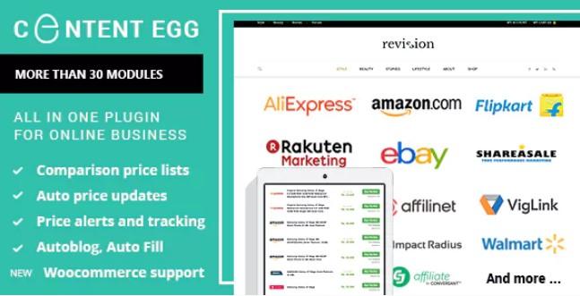 Content Egg WordPress插件
