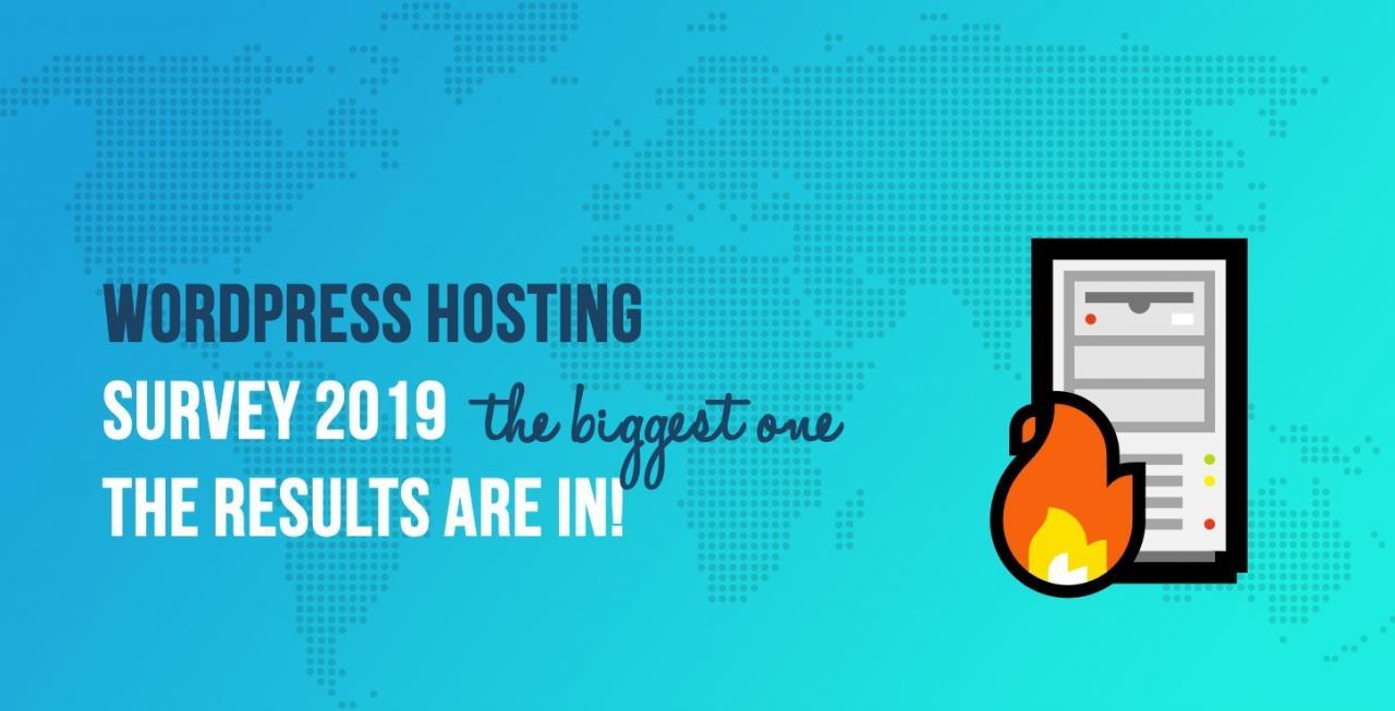 WordPress主办调查2019年