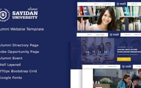 Sayidan v1.6.5  - 大学校友教育WordPress主题