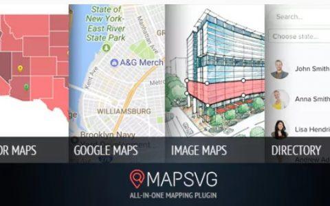 MapSVG v5.4.0  - 最后一个WordPress地图插件