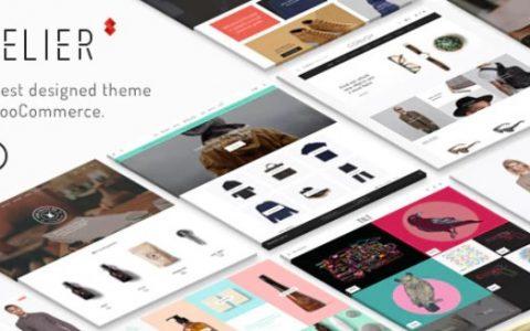 Atelier v2.6.13  - 创意多用途电子商务主题