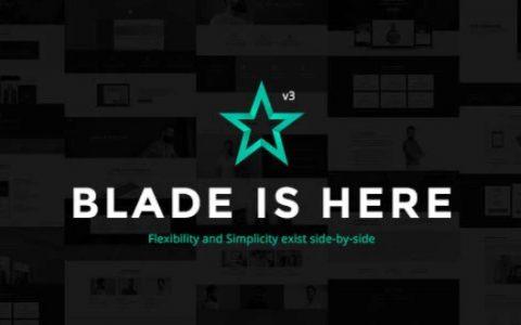 Blade v3.0.5  - 响应式多功能WordPress主题
