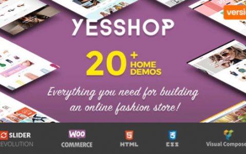 Yesshop v1.3.7  - 响应式多用途WordPress主题