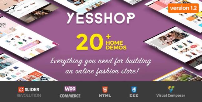 Yesshop  - 响应式多用途WordPress