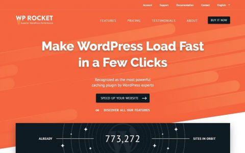 WP Rocket v3.3.5.2  - 一个高级WordPress缓存插件