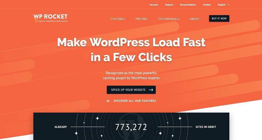 WP Rocket  -  WordPress缓存插件