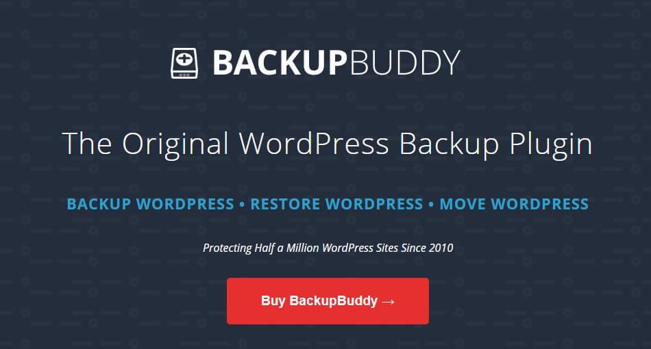 BackupBuddy WordPress插件