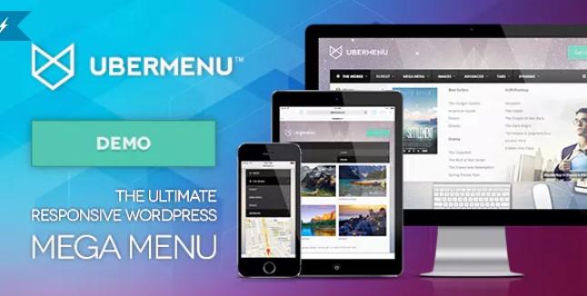 UberMenu  -  WordPress Mega菜单插件