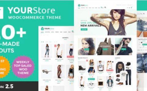 YourStore v2.5  - 高级WooCommerce WordPress主题